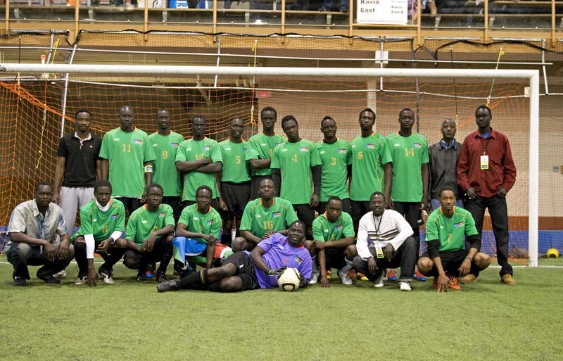 Team South Sudan 2012